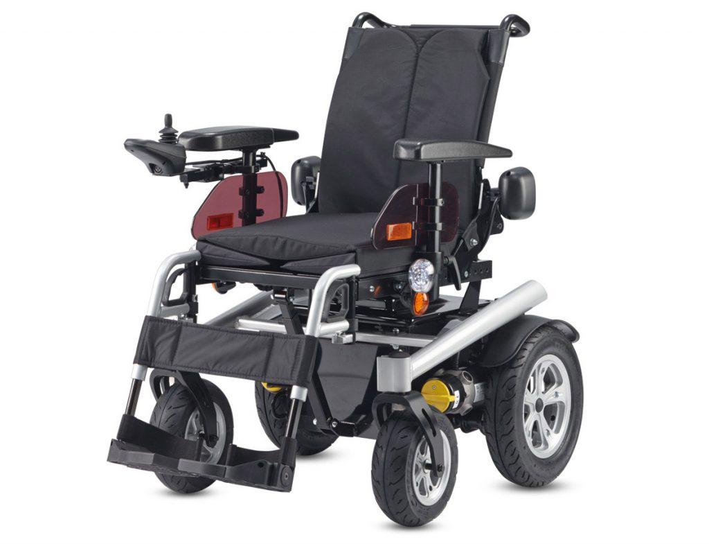 B+B, Bischoff & Bischoff, Taiga, elektrischer Rollstuhl für Außenbereich